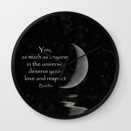 You, as much as anyone... Wall Clock