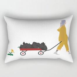 Billie Eilish Bellyache Rectangular Pillow