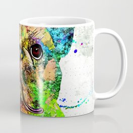 French Bulldog Grunge Coffee Mug