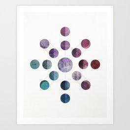 Lunar Cycle Art Print