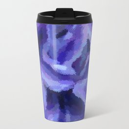 Purple Hibiscus Leaf Tapestry Print #1497 Travel Mug