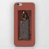 hallion iPhone & iPod Skins featuring ....to find a way out! by Karen Hallion Illustrations