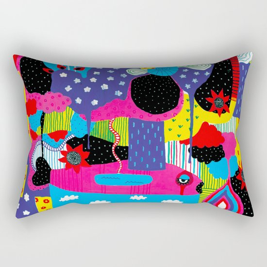 Some Things Are Better Left Unexplained  Rectangular Pillow