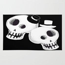 Dapper Skulls Rug