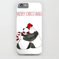 Christmas Pandas iPhone 6s Slim Case