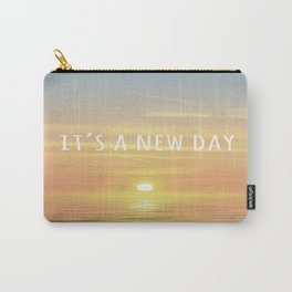 It's A New Day (Typography) Carry-All Pouch