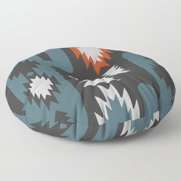 Tribal cacti Floor Pillow