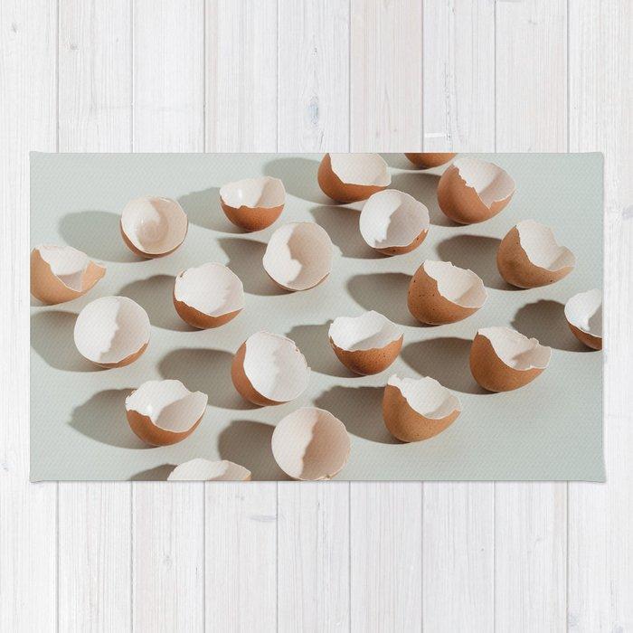 Egg shells Rug