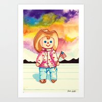 Mexican Dollz Art Print