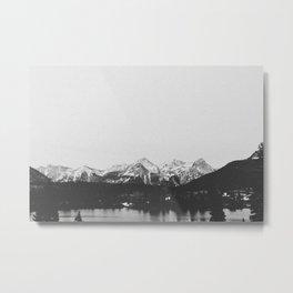 THE MOUNTAINS XIII Metal Print