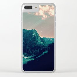 Mountain Call Clear iPhone Case