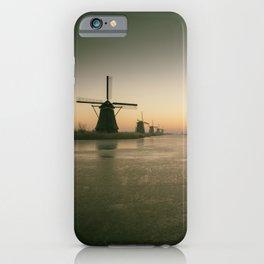 Sunrise at Kinderdijk IV iPhone Case