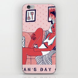 Satan's Day Off iPhone Skin