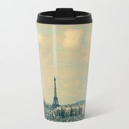 Paris In Blue Travel Mug