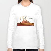 egypt Long Sleeve T-shirts featuring I love Egypt  by sladja