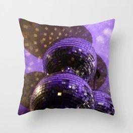 Disco Ball Throw Pillow