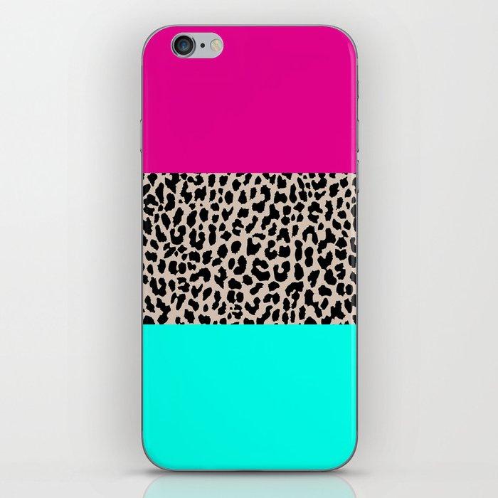 Leopard National Flag iPhone Skin