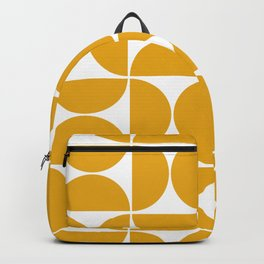 Modern Geometric Seamless Pattern Mid Century Backpack
