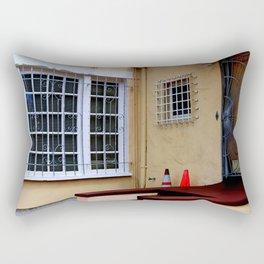 Caution - Break-ins Not Advised Rectangular Pillow
