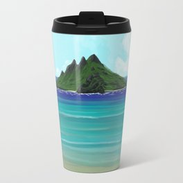 One Lost Island Travel Mug