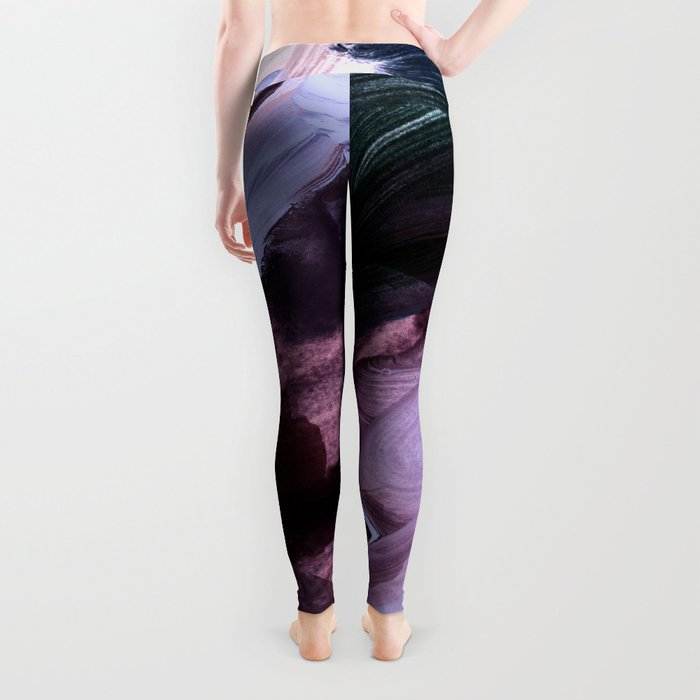 abstract painting VII Leggings