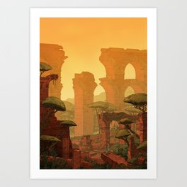 The Aqueduct Art Print