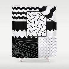 Sharkephant Shower Curtain