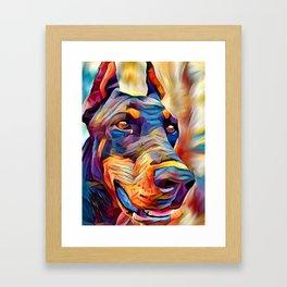 Doberman 2 Framed Art Print