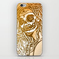 medusa iPhone & iPod Skins featuring MEDUSA by BABA-G | arts and crafts
