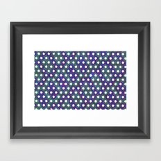 Faded Patches Framed Art Print