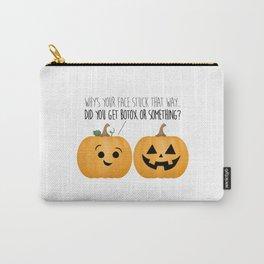 Pumpkin Botox Carry-All Pouch