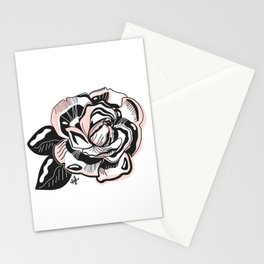 summer rose Stationery Cards