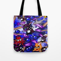 scuba Tote Bags featuring Scuba by Mark Greulach