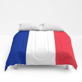 France / French Flag / Drapeau Comforters