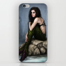 Mermaid and the Lighthouse iPhone & iPod Skin