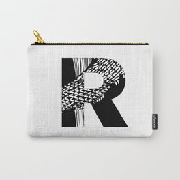 The letter R Carry-All Pouch