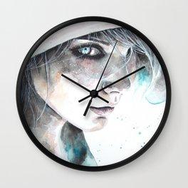 Hungry eyes  Wall Clock