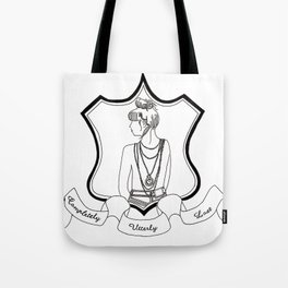 Completely Utterly Lost Tote Bag