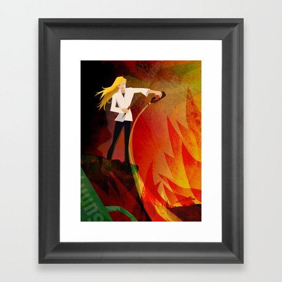 The Slayer Framed Art Print