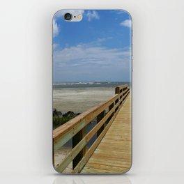 Welcome To The Beach iPhone Skin