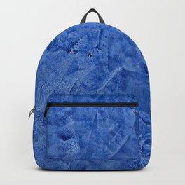 Beautiful Vibrant Light Blue Plaster #society6 #bluedecor #blue Backpack