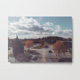Laval Suburban Autumn Scenery Metal Print