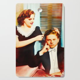 Judy Garland and Mickey Rooney Cutting Board