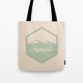 Highlands Tote Bag