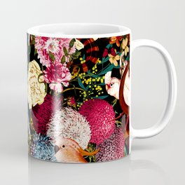 Floral and Animals pattern II Coffee Mug