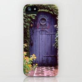 Purple Gate iPhone Case