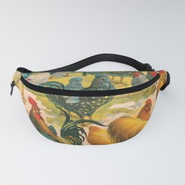 Poultry Parade Fanny Pack