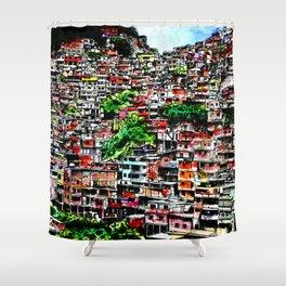 Barrio Shower Curtain