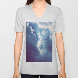Breaking Through Unisex V-Neck