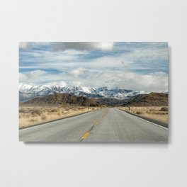 Approaching a Certain Elevation Metal Print